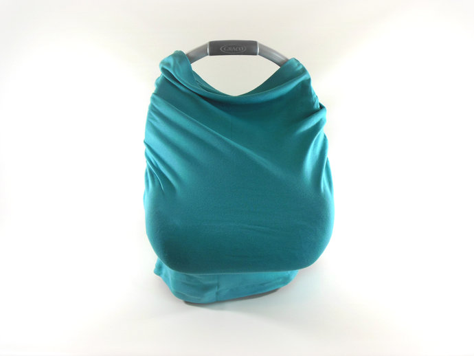 4 in 1 Nursing Cover, Car Seat Canopy, Grocery Cart Cover, High Chair Cover in