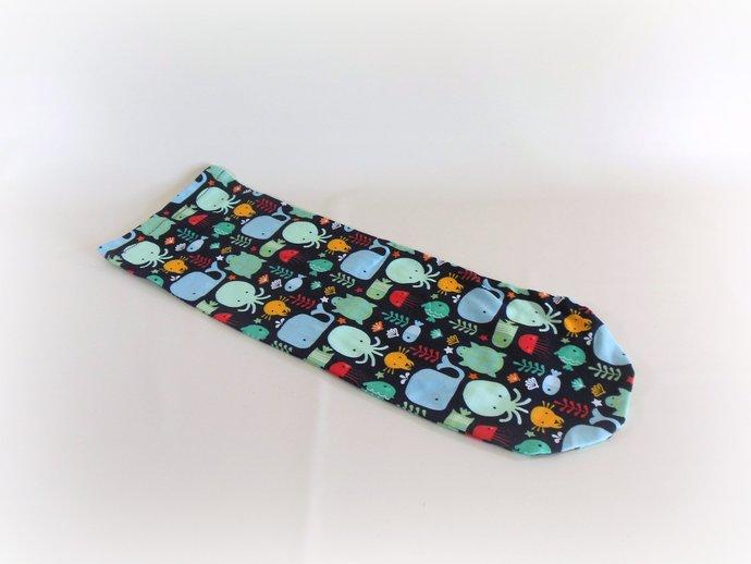 Swaddle Sack, Sleep Sack, Cocoon, Blanket, Wrap in Ocean Animals