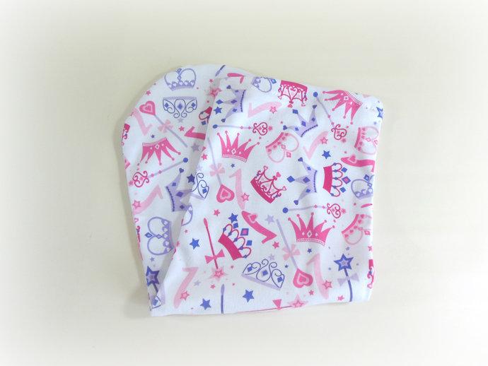 Swaddle Sack, Sleep Sack, Cocoon, Blanket in Princess