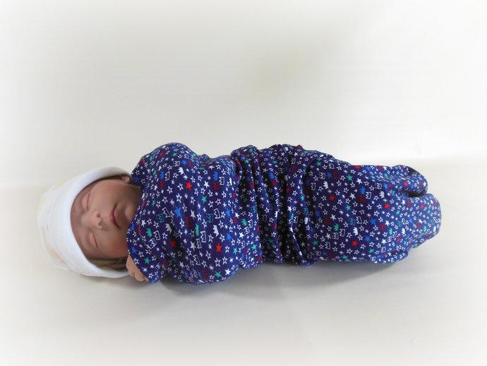 Swaddle Sack, Sleep Sack, Cocoon, Blanket, Wrap in Prince Crowns