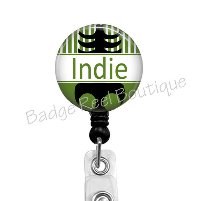 Personalized Retractable Badge Holders, Ortho Nurse Badge Reel, Xray Name Clip,