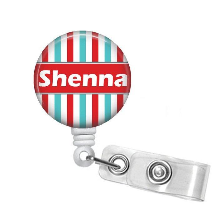 Personalized Badge Reel Retractable Badge Holder RN Badges Name Badge Holders