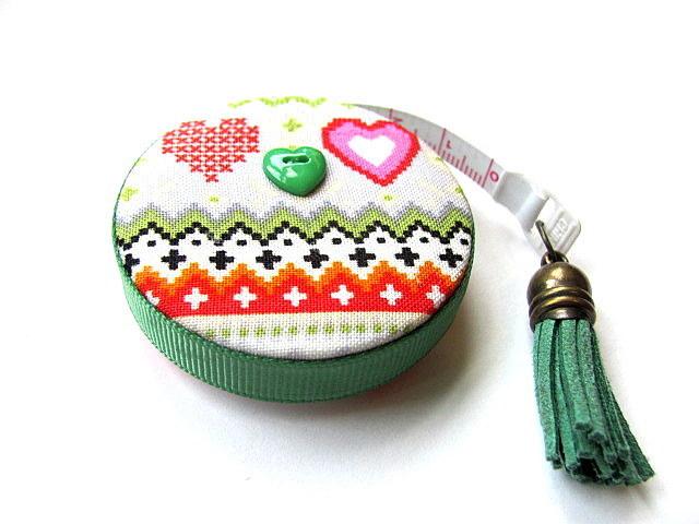 Measuring Tape Sweater Pattern Retractable Tape Measure