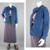 90s Jean Jacket Vintage, Blue Cotton Stretch Denim Blazer, Button Down Coat,