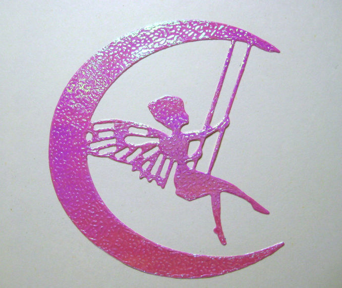 Fairy Swinging on the Moon Metal Cutting Die