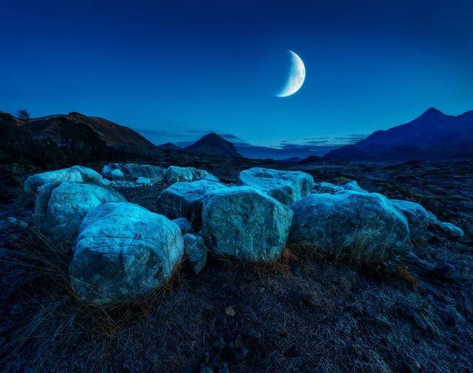 The new moon ritual
