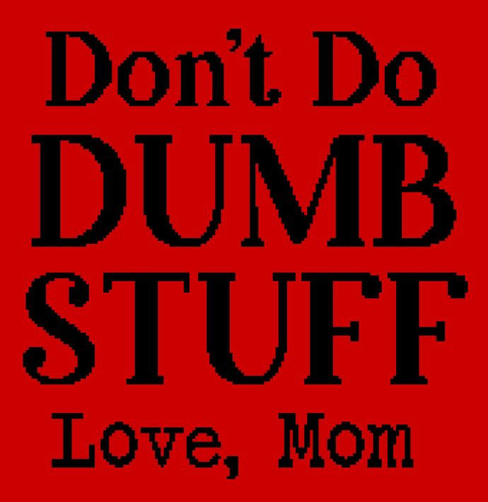 Don't Do Dumb Stuff (Mom)