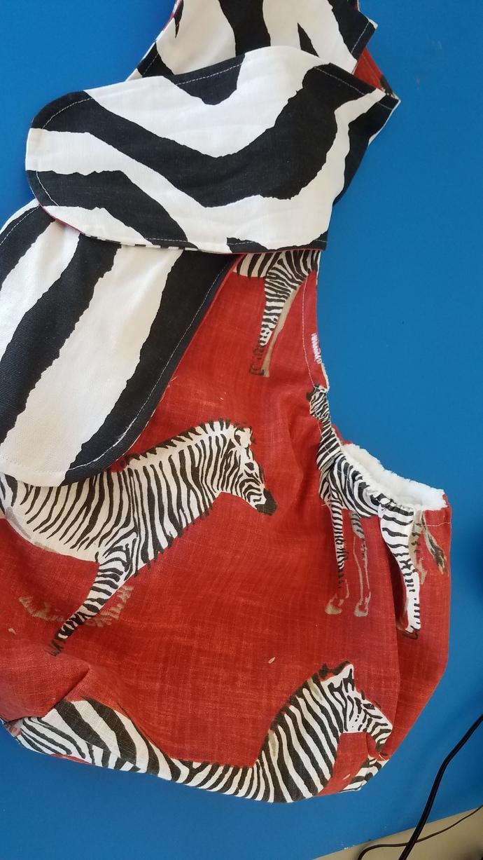 Wild Zebra Pet Sling