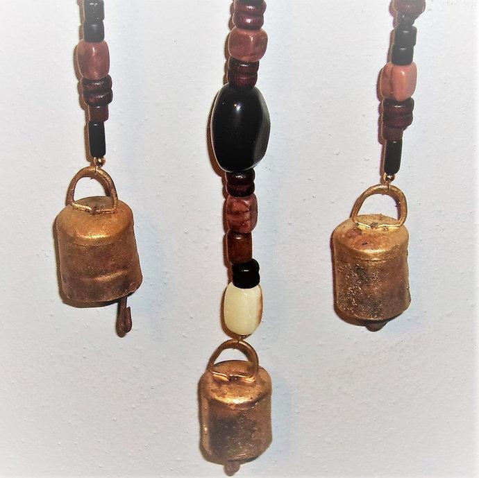 Windchime-natural- semi precious stones-jewelry quality