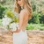 White Spaghetti Straps Backless Lace Beach Wedding Dresses Bridal Gowns