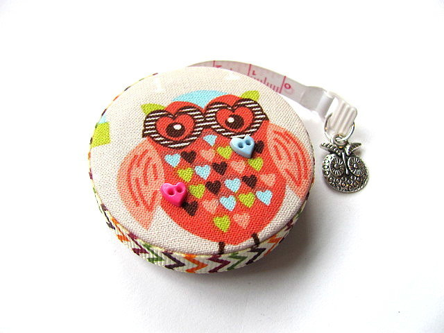 Measuring Tape Teacher Owls Retractable Pocket Tape Measure
