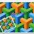 Illusion 7 Corner Pillars Pattern Graph With Single Crochet Written