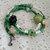 Memory Wire Skull/Flower Bracelet