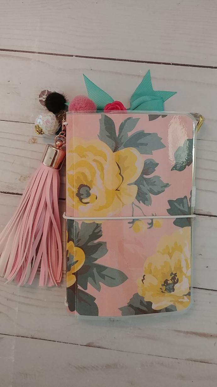 """Bloom"" Pocket Travelers Notebook w/inserts"