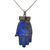 Beautiful Gemstone Hansa  !! 925 Sterling Silver Pave Diamond Lapis Lazuli