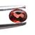 Garnet 4X3 mm Faceted Oval Semi Precious Loose Gemstone.