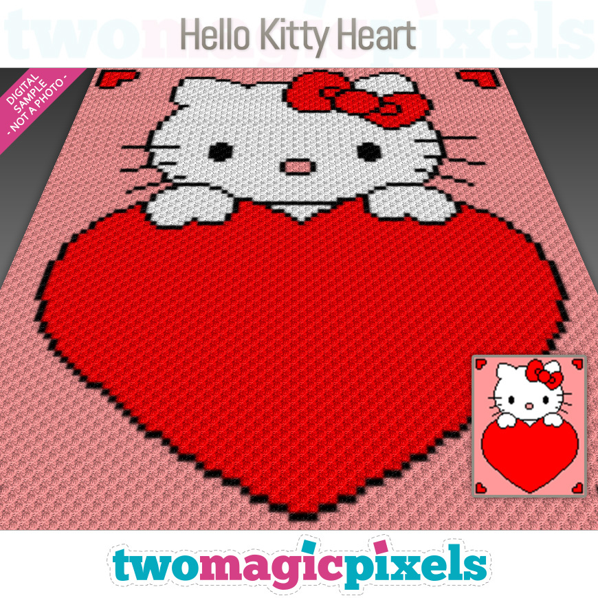 DIY Crochet Your Own Miniature Sanrio Hello Kitty Face and Bow ... | 870x870