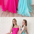Simple Long Square Neckline Lace Up Open Back Prom Dress, Evening Dress P2144