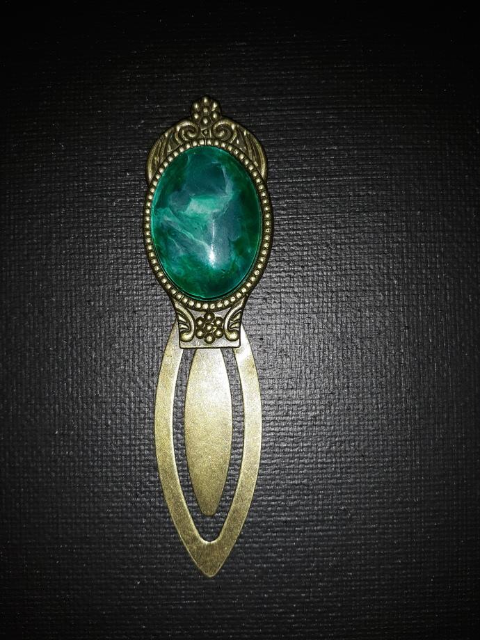 Sea Green Bookmark