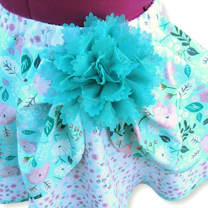 Circle Skirt Layered, Girl's 4T