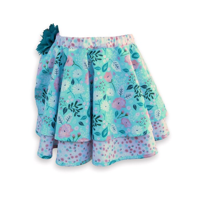 Circle Skirt Layered, Girl's 4T