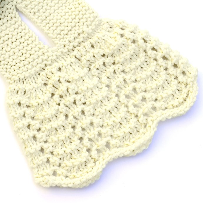 Knitted Neck Warmer, Ivory