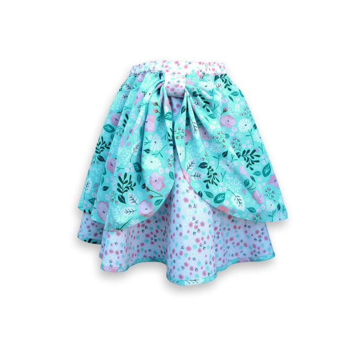 Circle Skirt Floral, Girl's Size 6