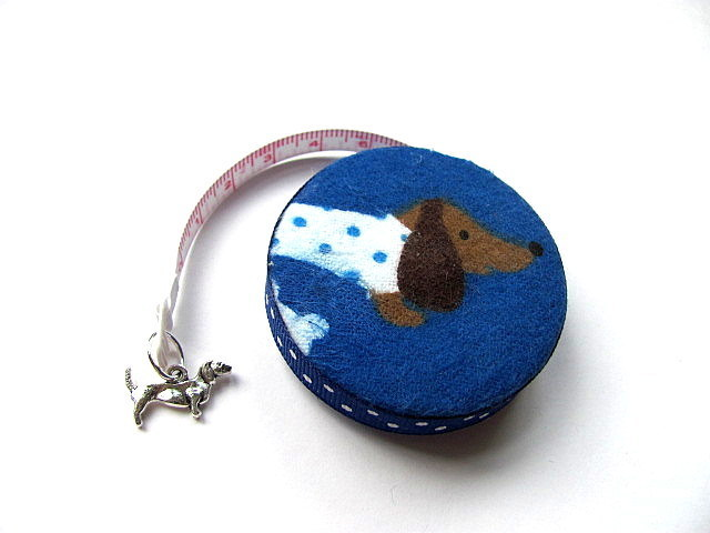 Copy of Measuring Tape Dotted Dachshunds Retractable Tape Measure
