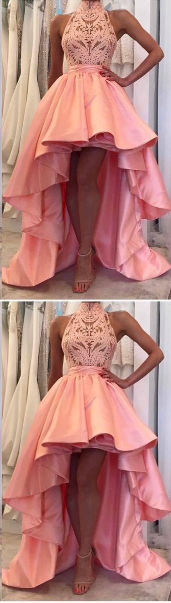 Prom Dress, Sexy Prom Dress, High Low Long Evening Dress