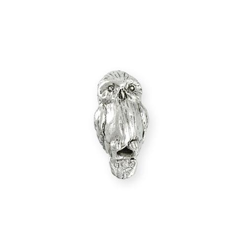 Green Girl Studios Barn Owl Bead