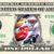 CARS 3 Movie on a REAL Dollar Bill Disney Cash Money Collectible Memorabilia