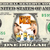 Despicable Me 3 Movie on a REAL Dollar Bill Disney Cash Money Collectible