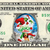 How Grinch Stole Christmas Movie on a REAL Dollar Bill Disney Money Cash