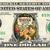 TARZAN AND JANE Movie on a REAL Dollar Bill Disney Cash Money Collectible