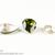 Teardrop Swarovski Gemstone, DIY Handmade Supply