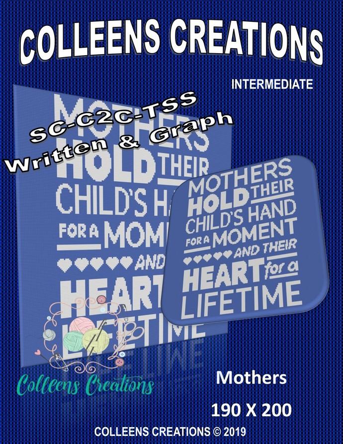 Mothers Crochet Written and Graph Design