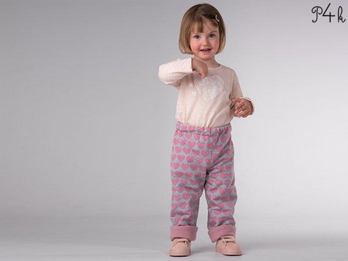 Boy Girl Harem Pants pattern Pdf, Knit Jersey Fleece Woven, Easy Toddler pants,