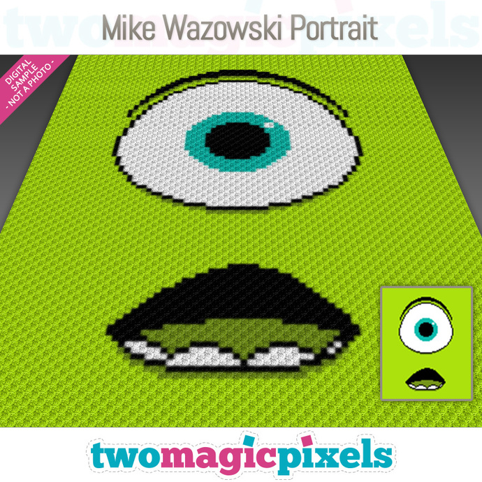 Free Crochet Monster's Inc. Mike Wazowski Cozy Pattern | 690x690
