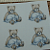 Teddy Bear with Cat 2 Ceramic Waterslide Decal D10