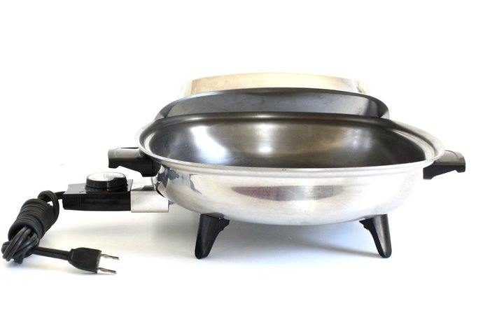 Aristo Craft Electric Skillet Stainless Steel Frying Pan 7465, West Bend
