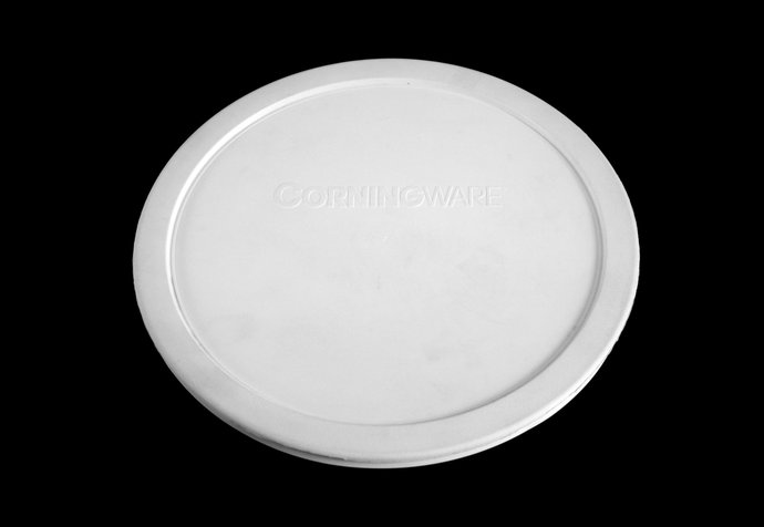 Corningware F-1-PC 7403-PC Plastic Storage Lid, For Round French White Casserole