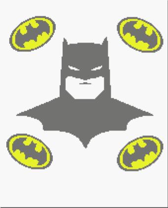 Batman Throw 170 x 210 sc