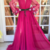 High Quality prom dress O neck party dress Neckline,Sexy Long Puff Sleeves