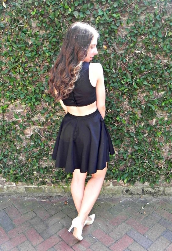 Mini Dress,Little Black Dress,Cheap Homecoming Dress