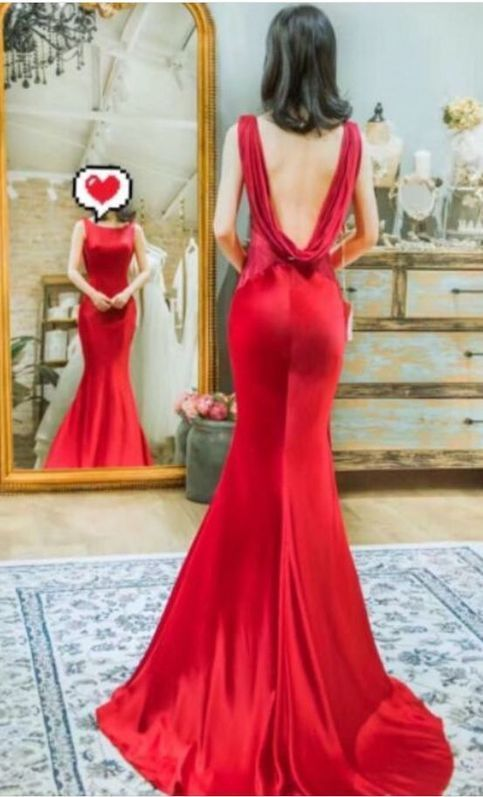 Mermaid Prom Dress,Long Prom Dresses,Charming Prom Dresses,Floor length Evening