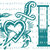 Ink Life Tattoo Vinyl Decal with Dagger and Heart Sticker Tattoo Parlour