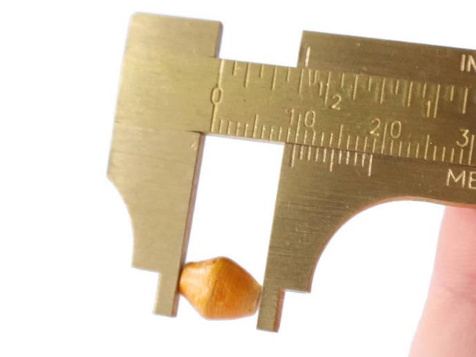 20 10mm Orange Beads Ugandan Paper Beads Fair Trade Beads Sealed Paper Beads