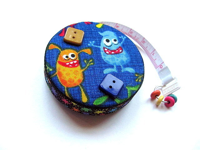 Tape Measure Silly Monsters Retractable Pocket Measuring Tape
