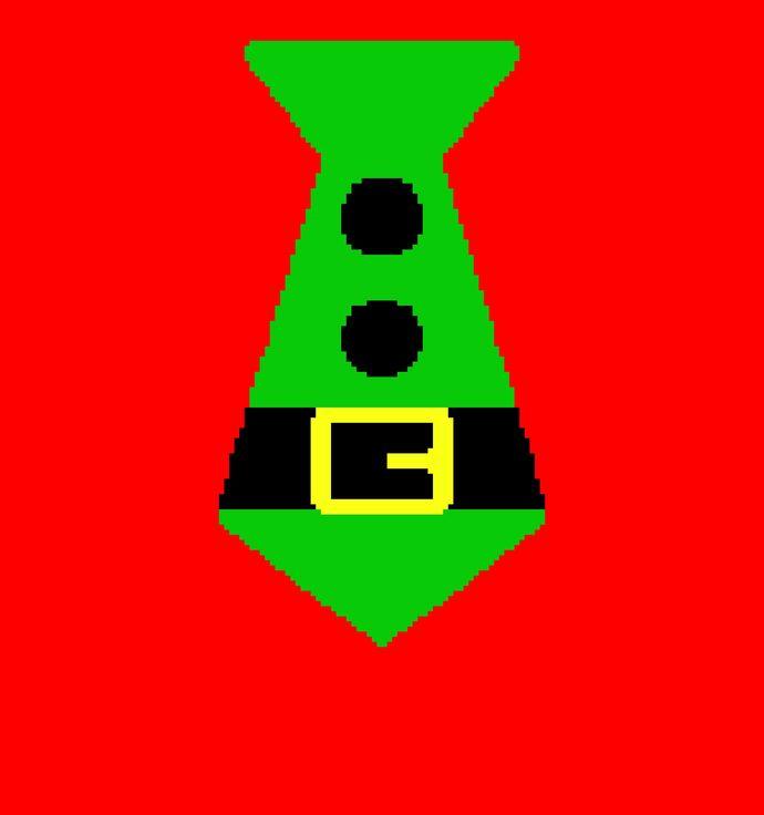 Elf Tie Green (Afghan)