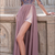Charming Chiffon evening dress Jewel Neckline party dress Long Sleeves party